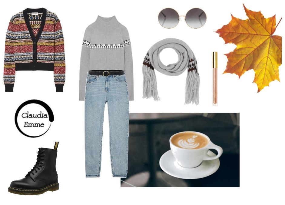 Outfit del giorno: jeans e cardigan, per le giornate casual