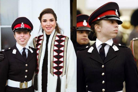 Rania di Giordania, figlia Salma si disploma all'accademia militare a Sandhurst