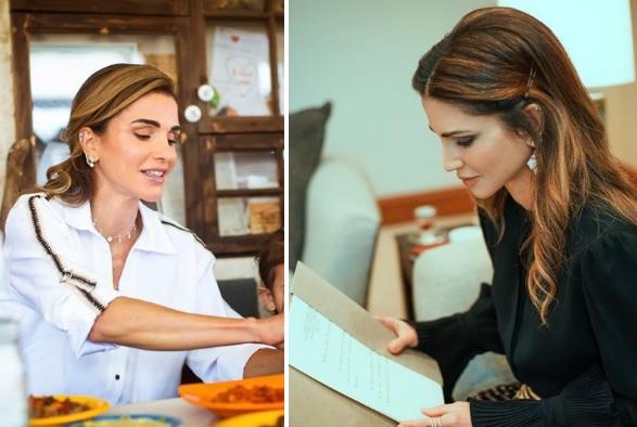 Rania di Giordania, regina sì..ma senza rinunciare ai piercing