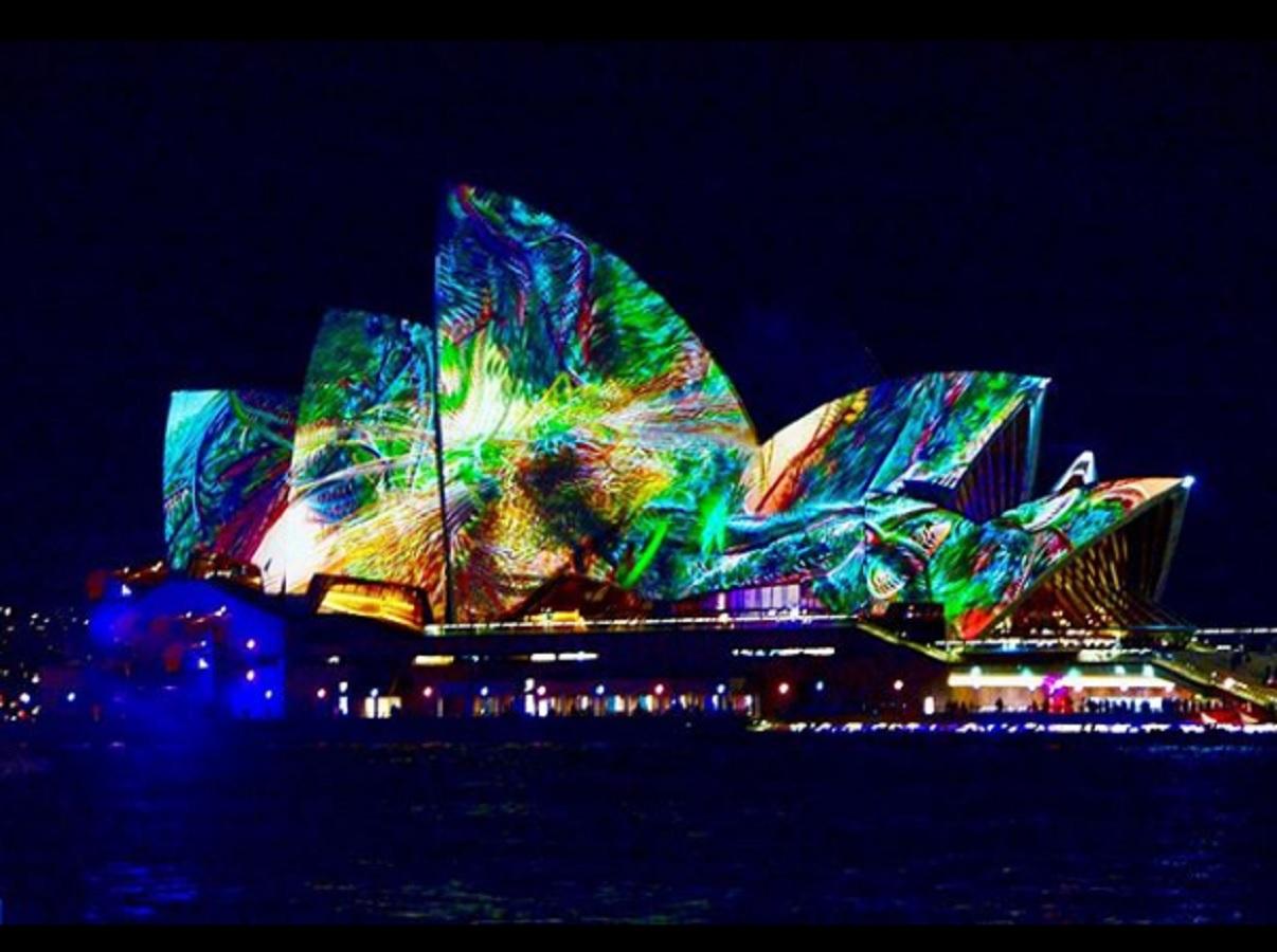 Vivid Sydney 2019 Festival, anche la light art di un artista italiano