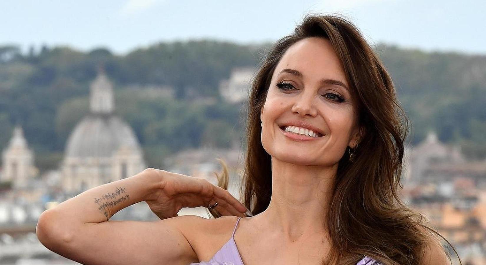 Angelina Jolie a Roma FOTO