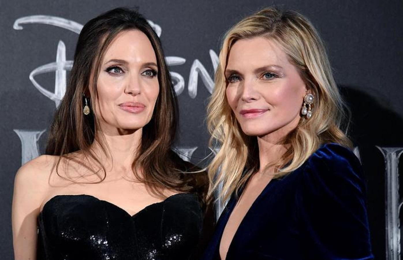 Michelle Pfeiffer a Roma abito in velluto firmato Monique Lhuillier