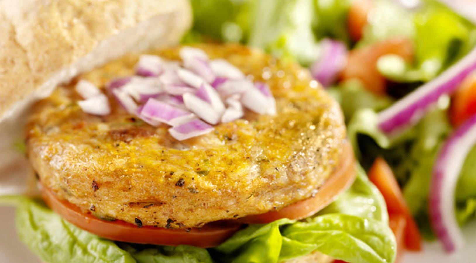 Pressione alta burger vegetali sale eccesso
