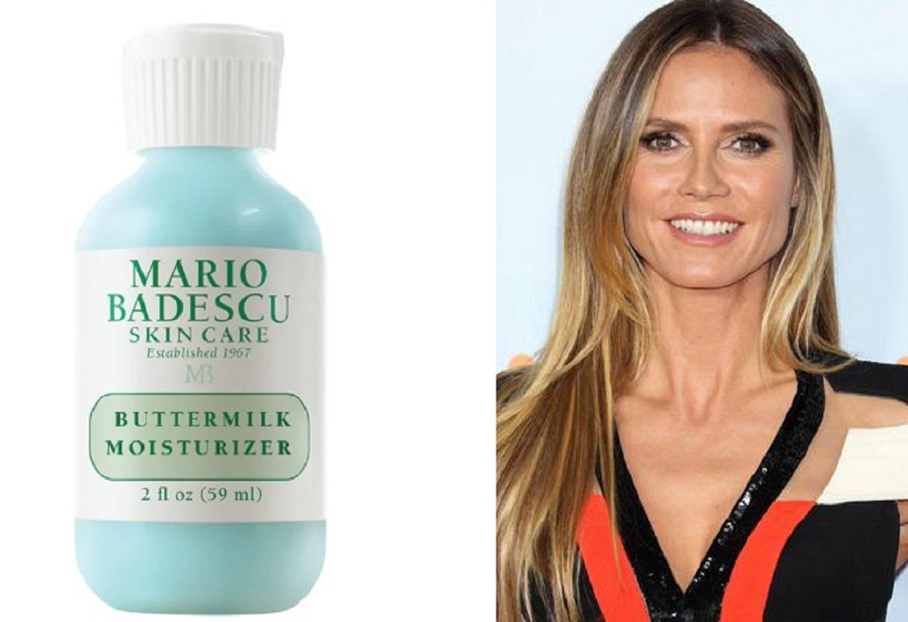 Il prodotto da 20 euro che Heidi Klum usa per una pelle idratata