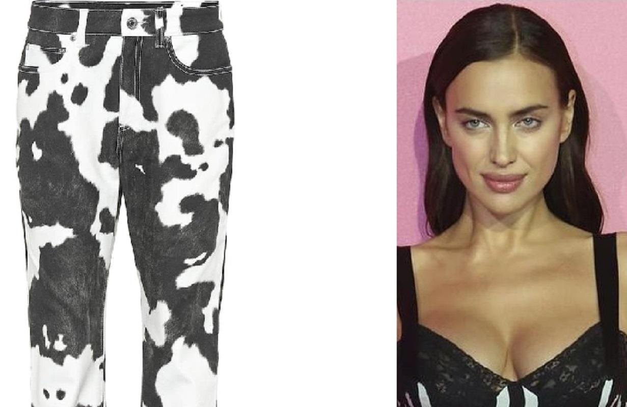 Irina Shayk inaugura la moda del cow pants
