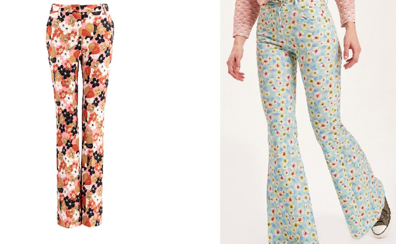 Primavera 2020, 3 pantaloni a campana per un look hippie chic