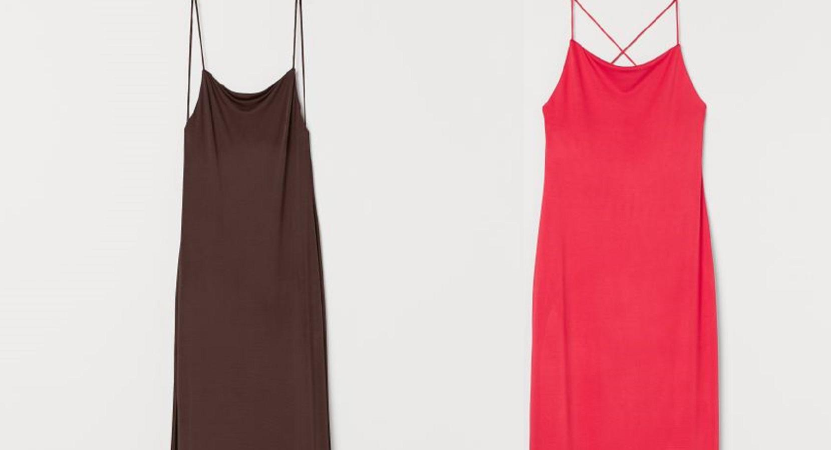 L'abito lungo e scollato H&M a 39.90 euro perfetto per l'estate