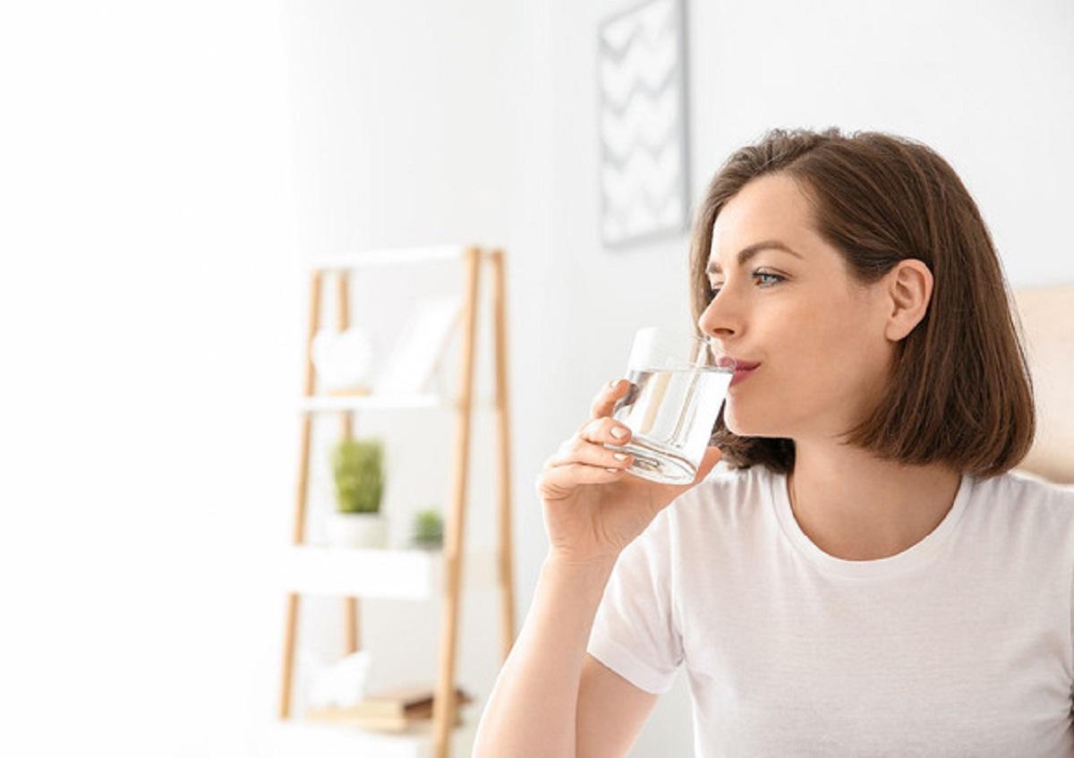 Acqua contro l'allergia