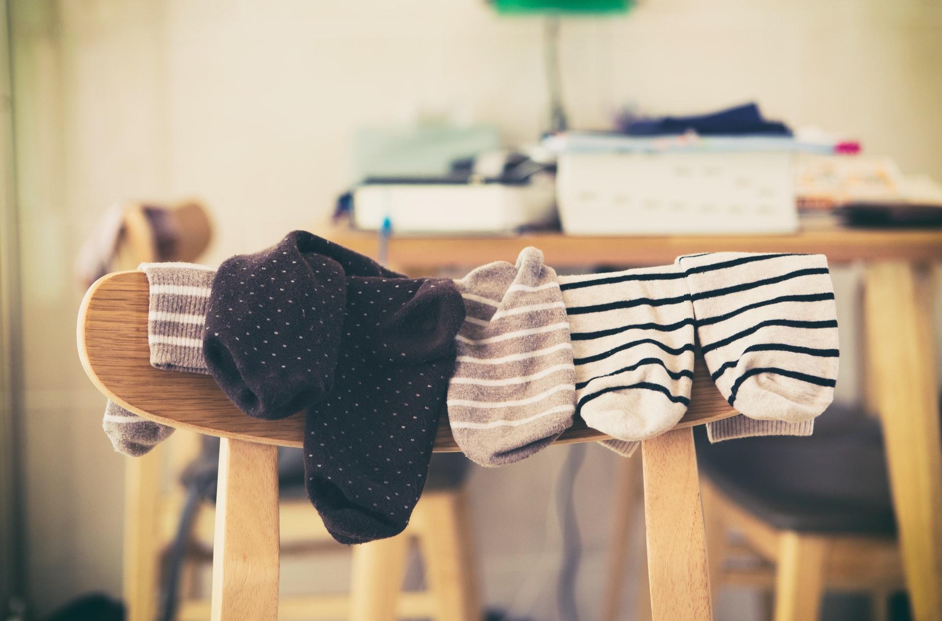 calzini per stare a casa