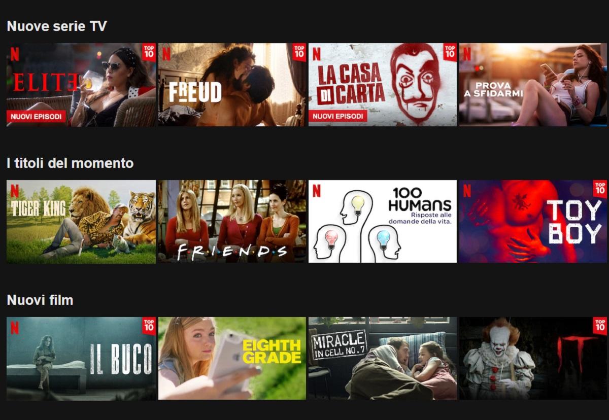 Netflix, uscite di Aprile