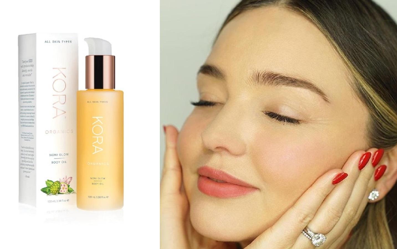 L'olio per di Miranda Kerr ideale per un massaggio ayurvedico casalingo