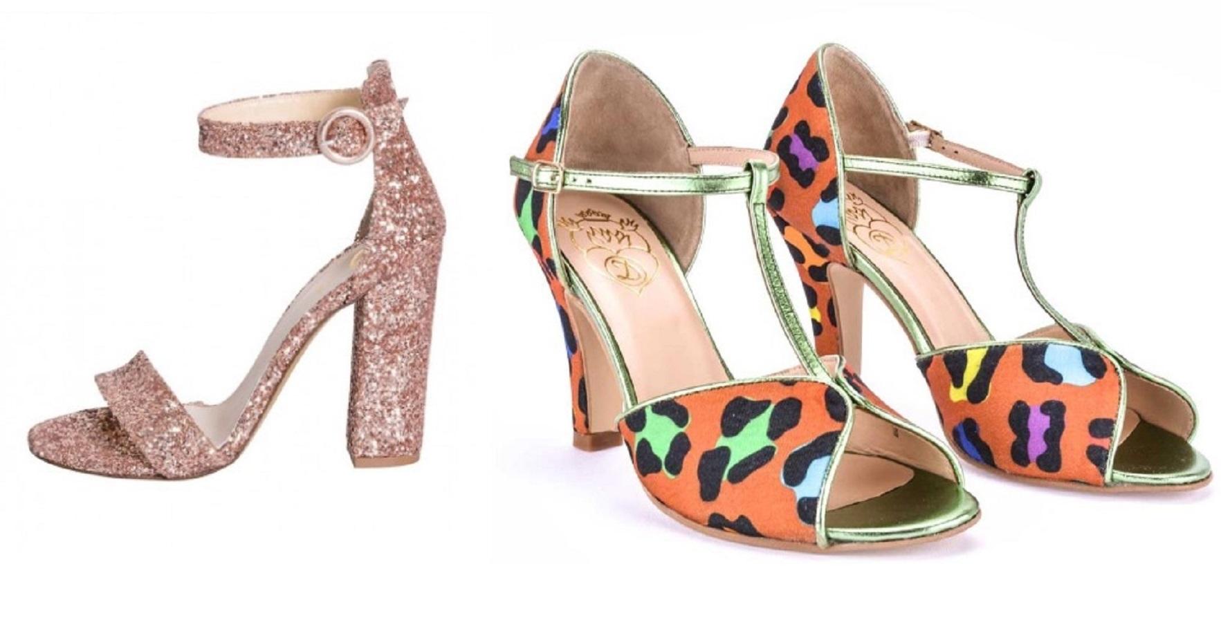 6 sandali con tacco super colorati per l'estate 2020