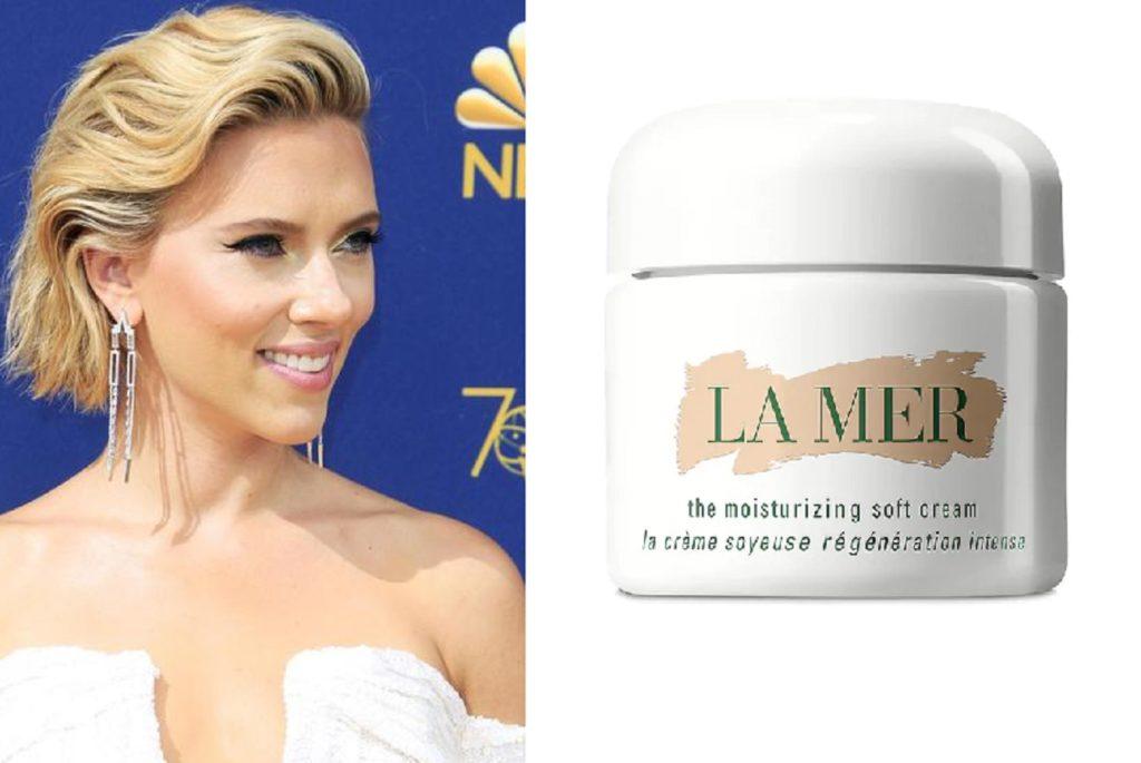 La crema viso da 285 euro usata da Scarlett Johansson sul red carpet