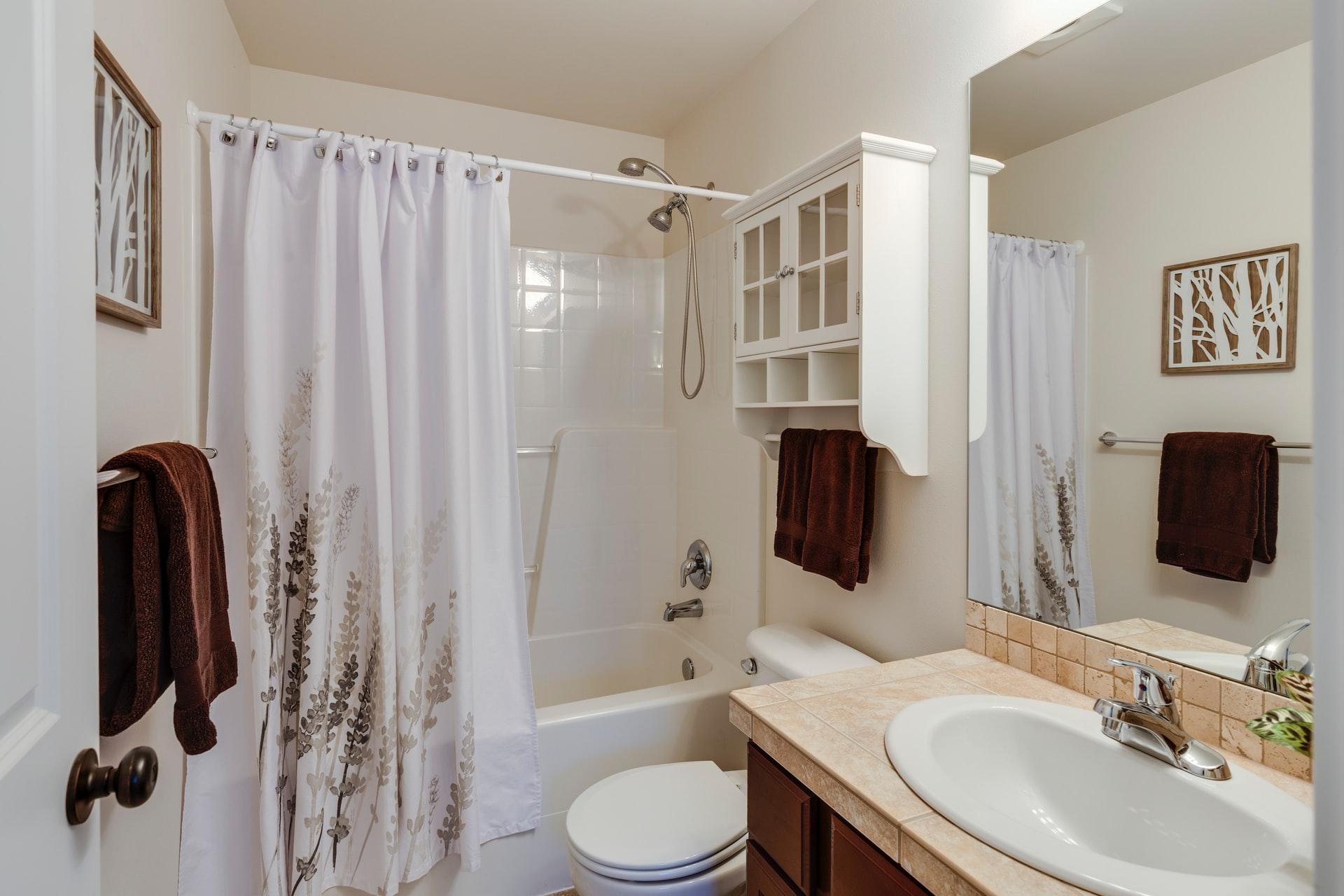 tenda da doccia per bagno