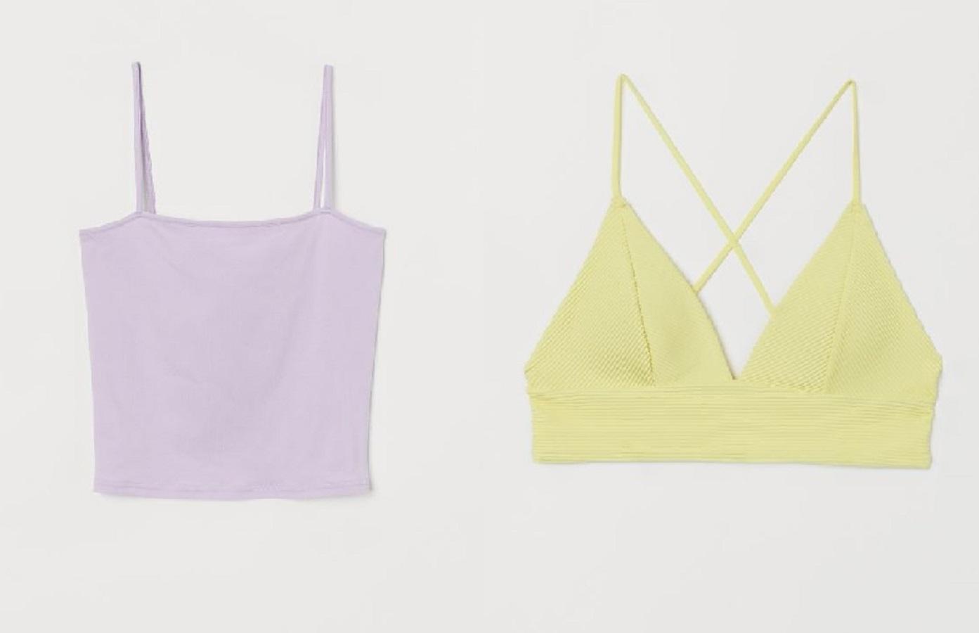 3 top color pastello H&M ideali per allenarsi a casa