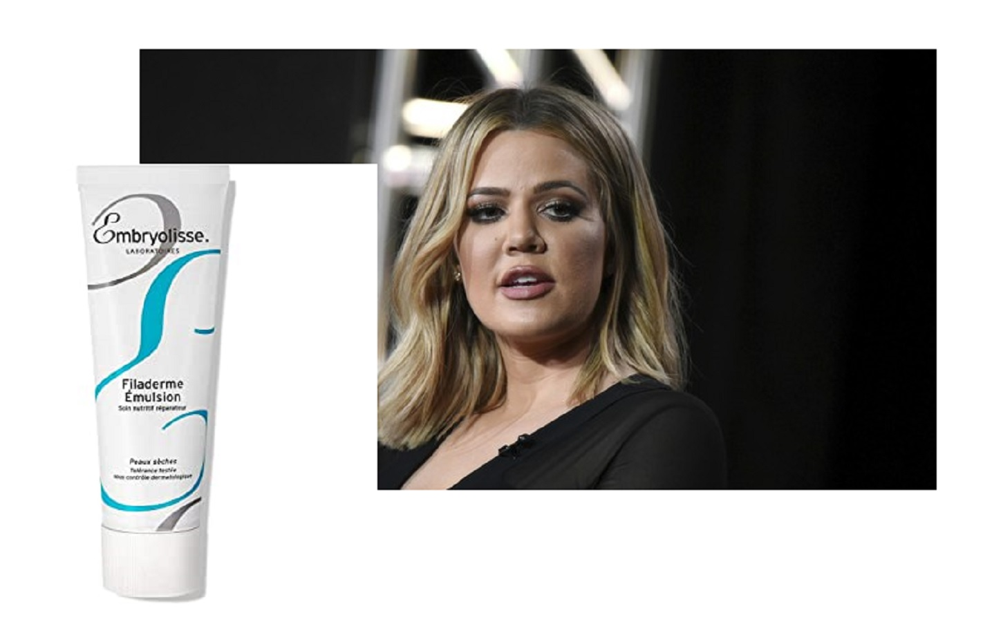 Khloé Kardashian usa questa crema idratante da 20 euro