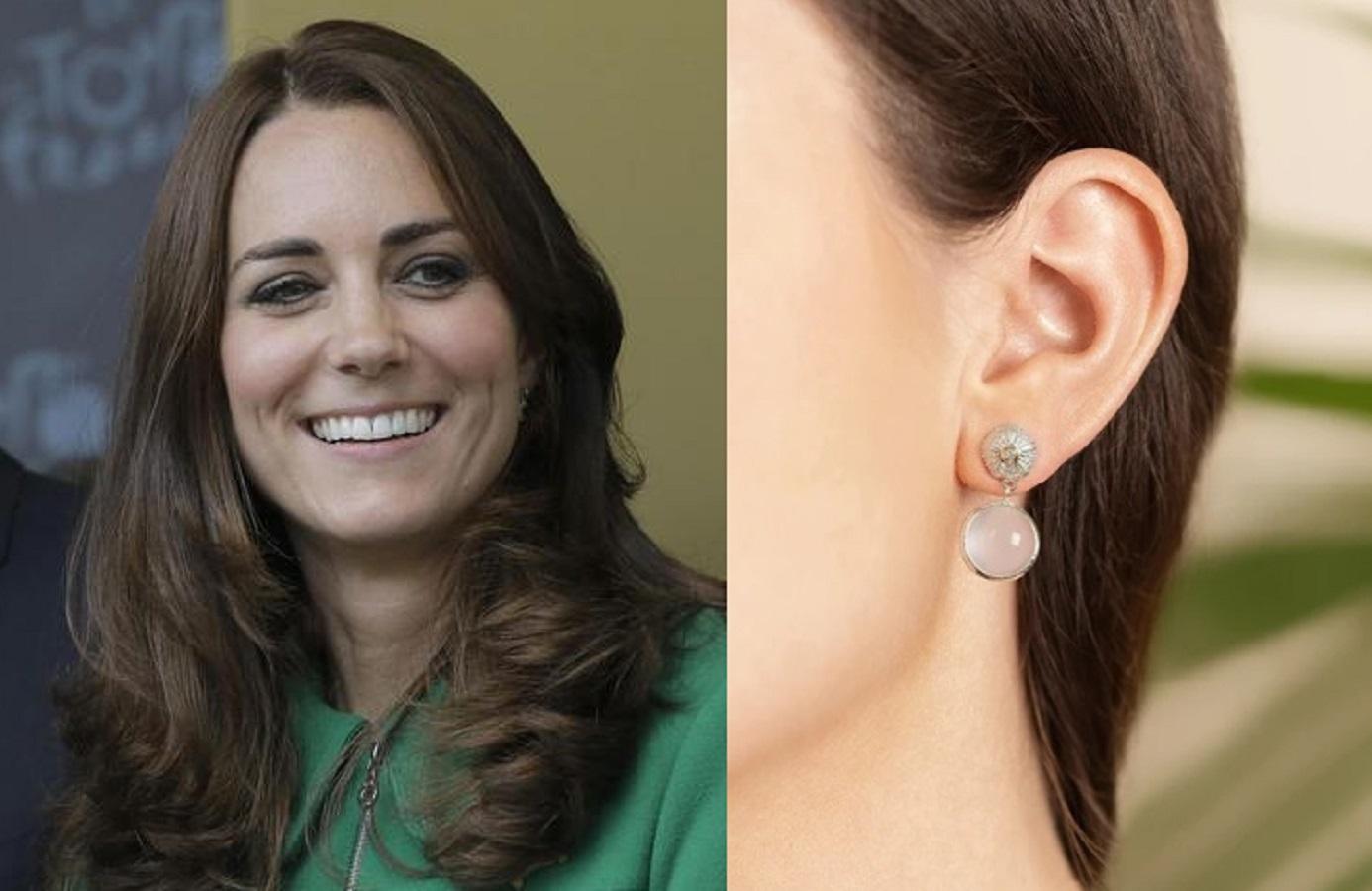 Kate Middleton, gli orecchini da 900 euro nascondono un messaggio speciale