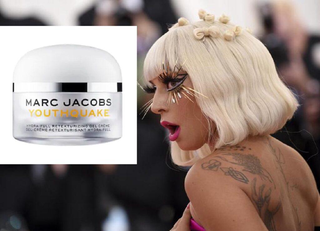 Il gel viso di Marc Jacobs usato da Lady Gaga sul red carpet