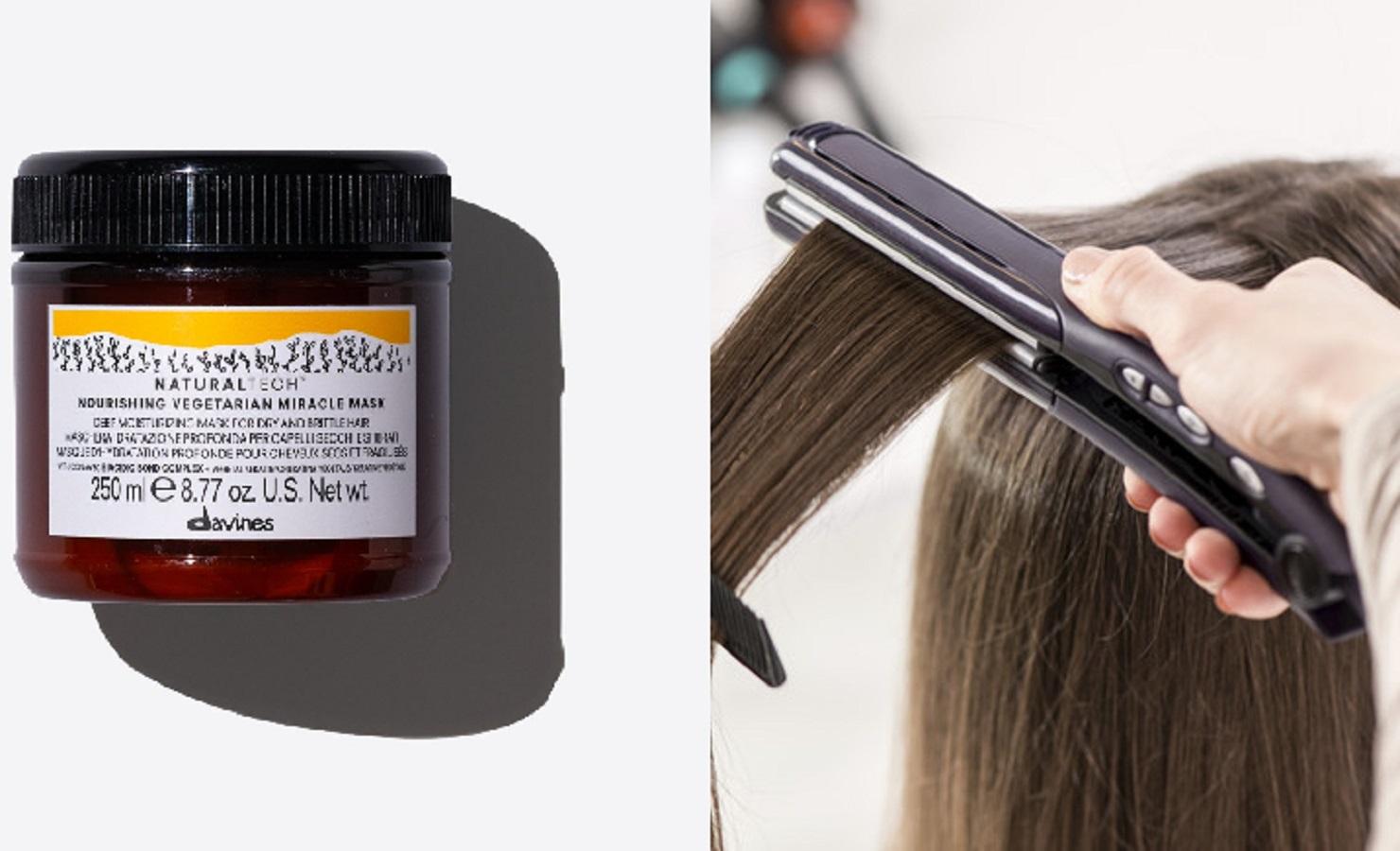 La maschera vegetale per capelli da 30 euro per una chioma rinata