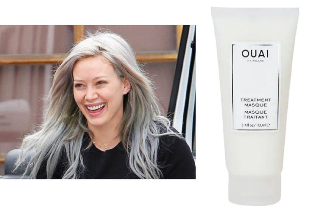 La maschera per capelli danneggiati che usa Hilary Duff