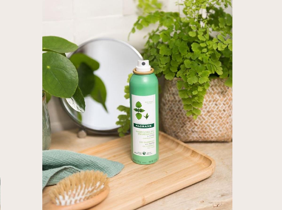 Shampoo secco all'ortica di Klorane