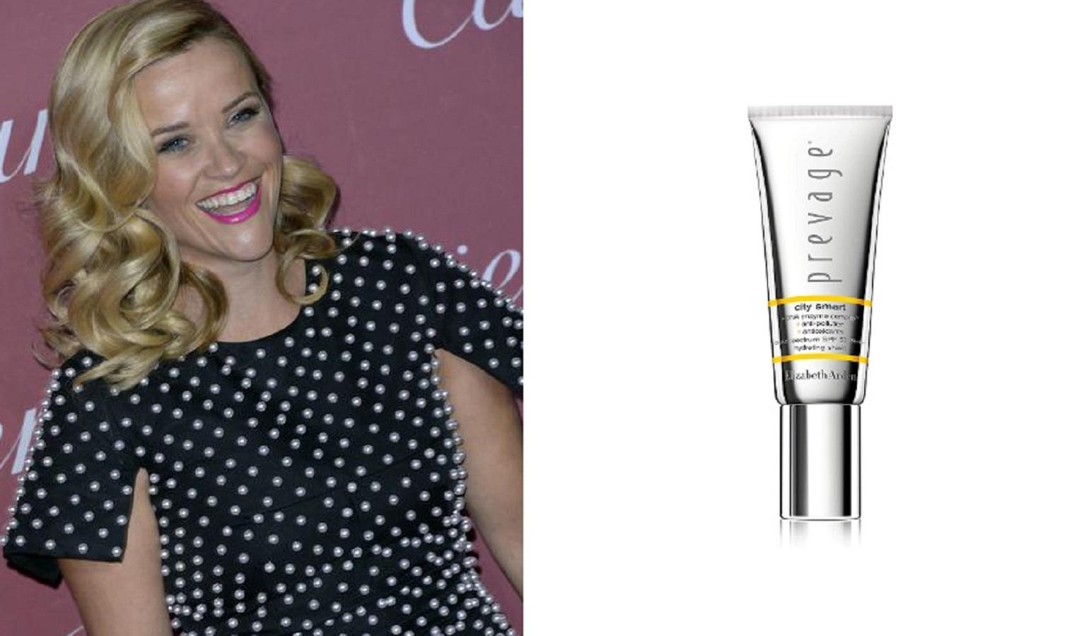 Reese Witherspoon porta sempre con sé questa crema solare