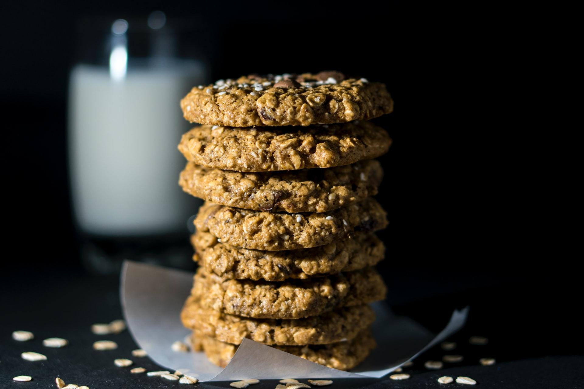 ricetta per biscotti vegani leggeri