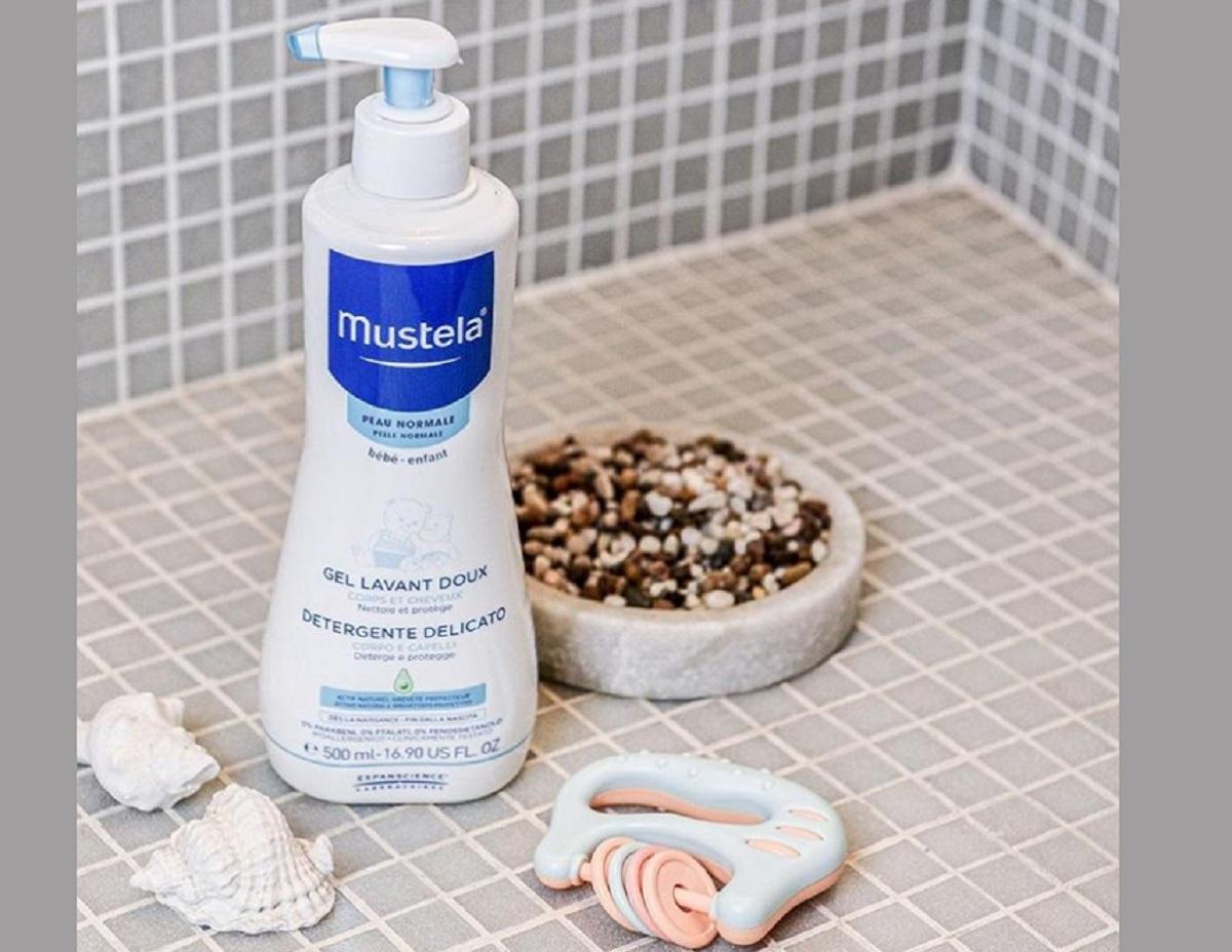 Detergente delicato per bambini Mustela
