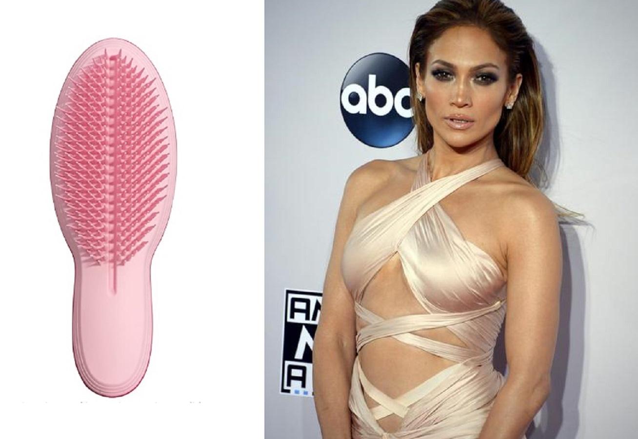 Jennifer Lopez, il suo parrucchiere usa questa spazzola Tangle Teezer