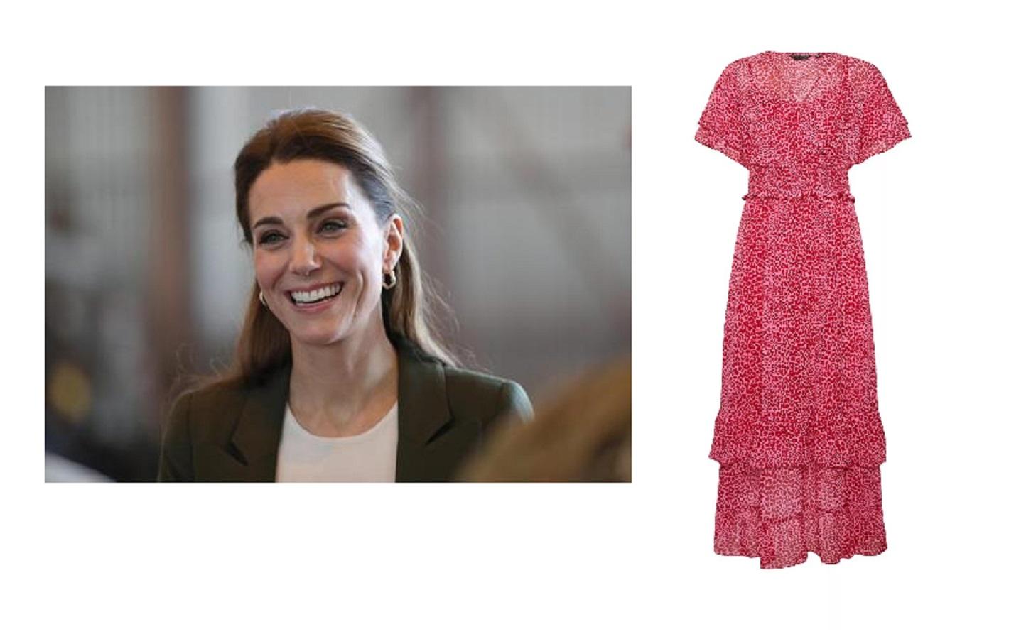 Kate Middleton, l'abito low cost ispirato a un look estivo della duchessa