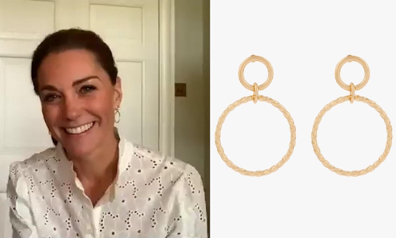 Kate Middleton ha indossato questi orecchini da 5 sterline