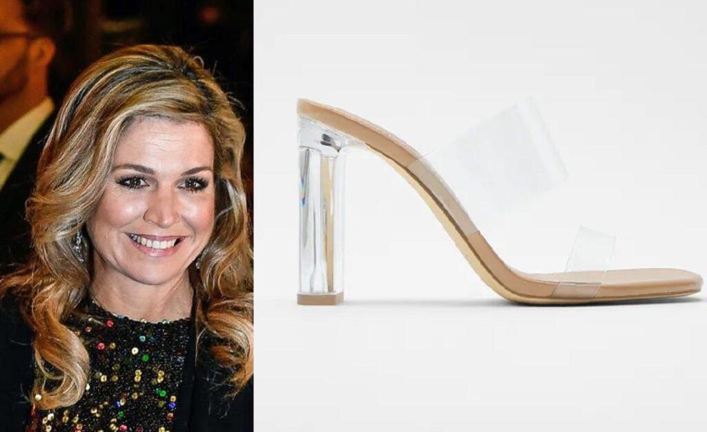 Maxima d'Olanda adora questi sandali trasparenti firmati Zara