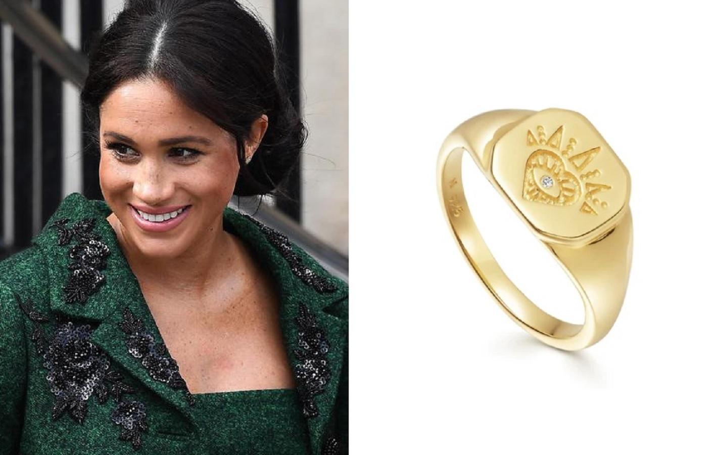 Meghan Markle, il suo anello da 97 euro ha un significato speciale