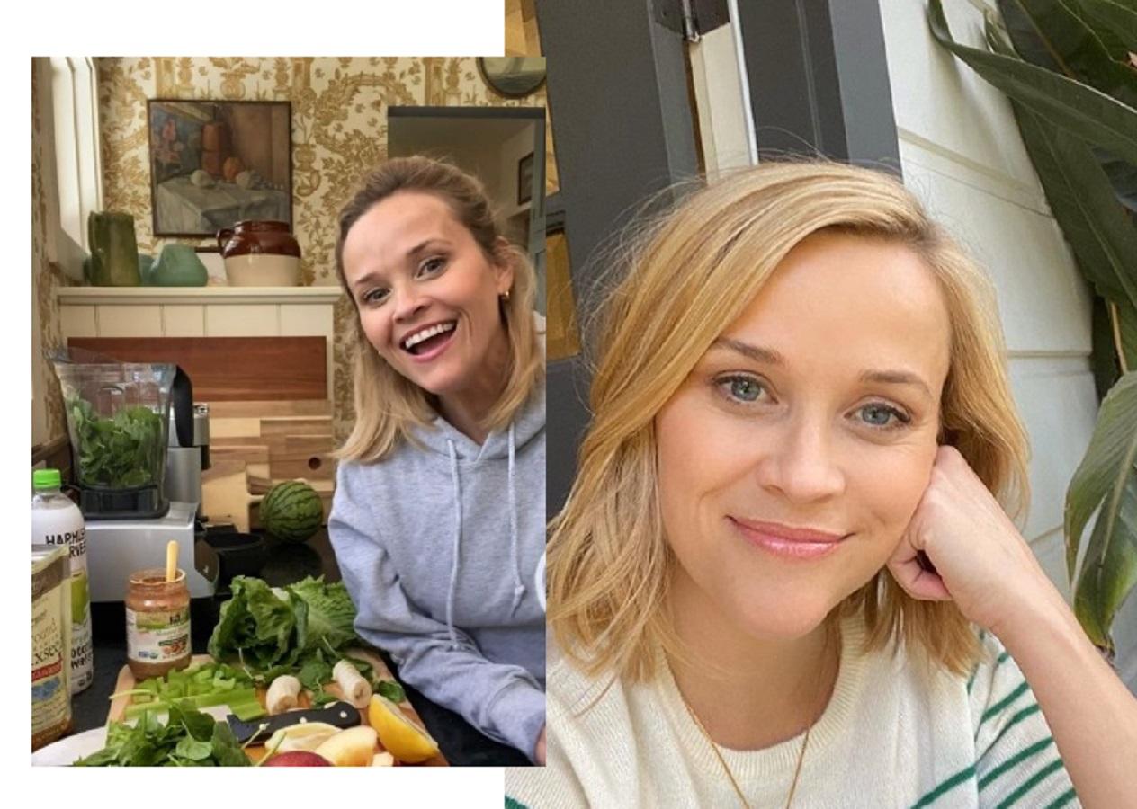 Reese Witherspoon beve tutti i giorni questo frullato detox: la ricetta