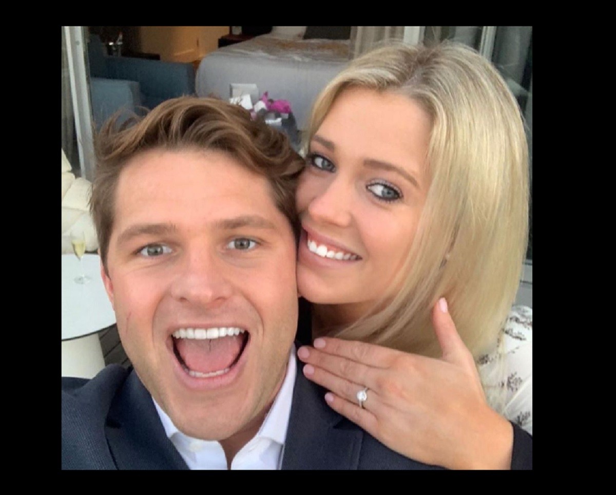 Amelia Spencer e il fidanzato Greg Mallett