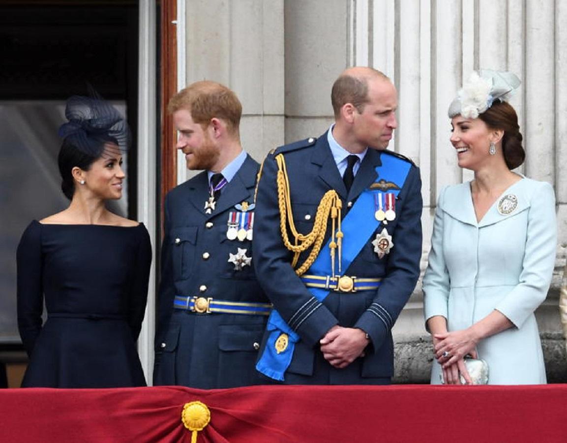 Harry e Meghan si sono riavvicinati a William e Kate