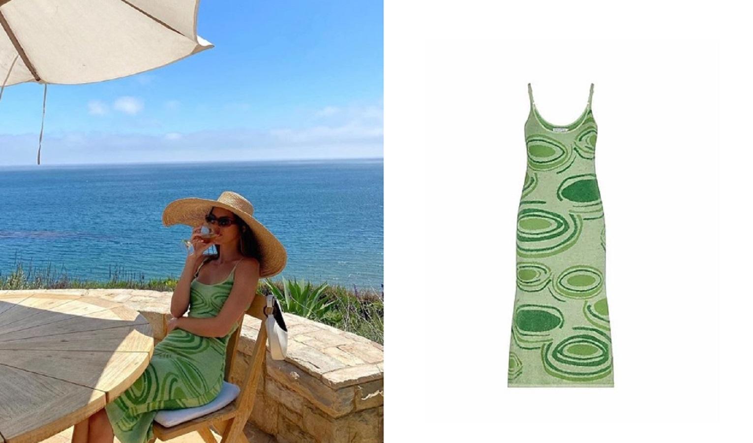 Kendall Jenner, il vestito verde che ha conquistato i fan è un inno all'estate