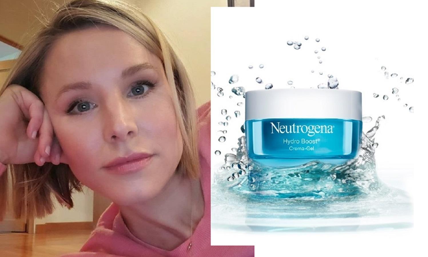 Kristen Bell usa questa crema in gel all'acido aialuronico