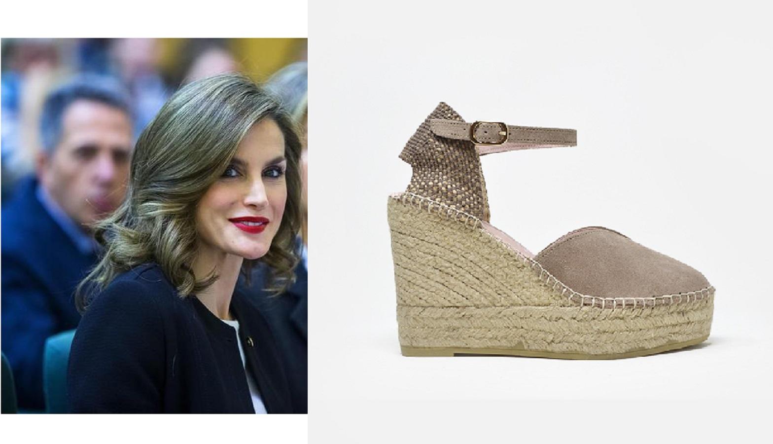 Letizia Ortiz con le espadrillas Macarena: dove comprarle