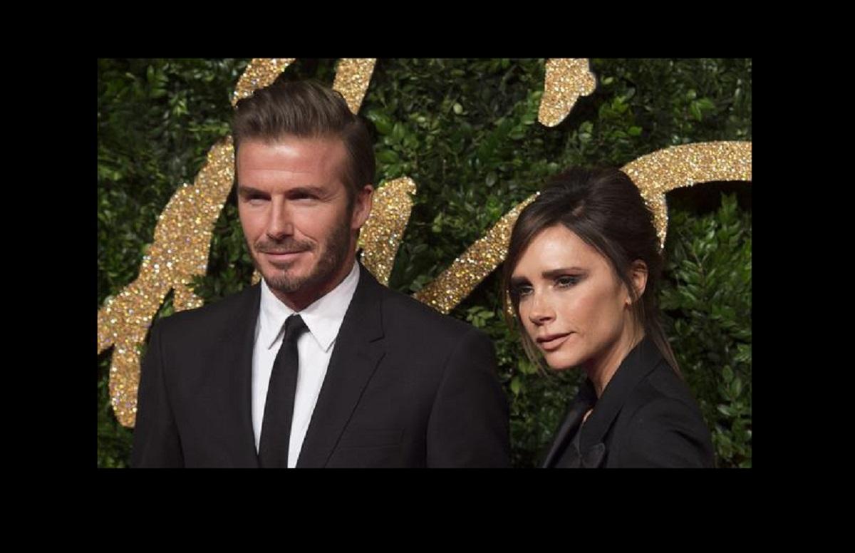 Victoria Beckham e il marito David