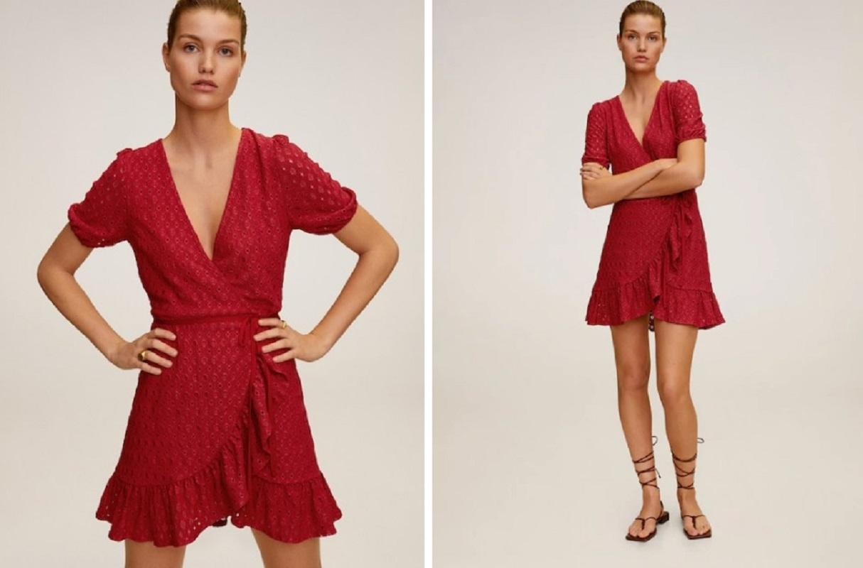 Il vestito Mango a 19,99 euro da abbinare alle espadrillas
