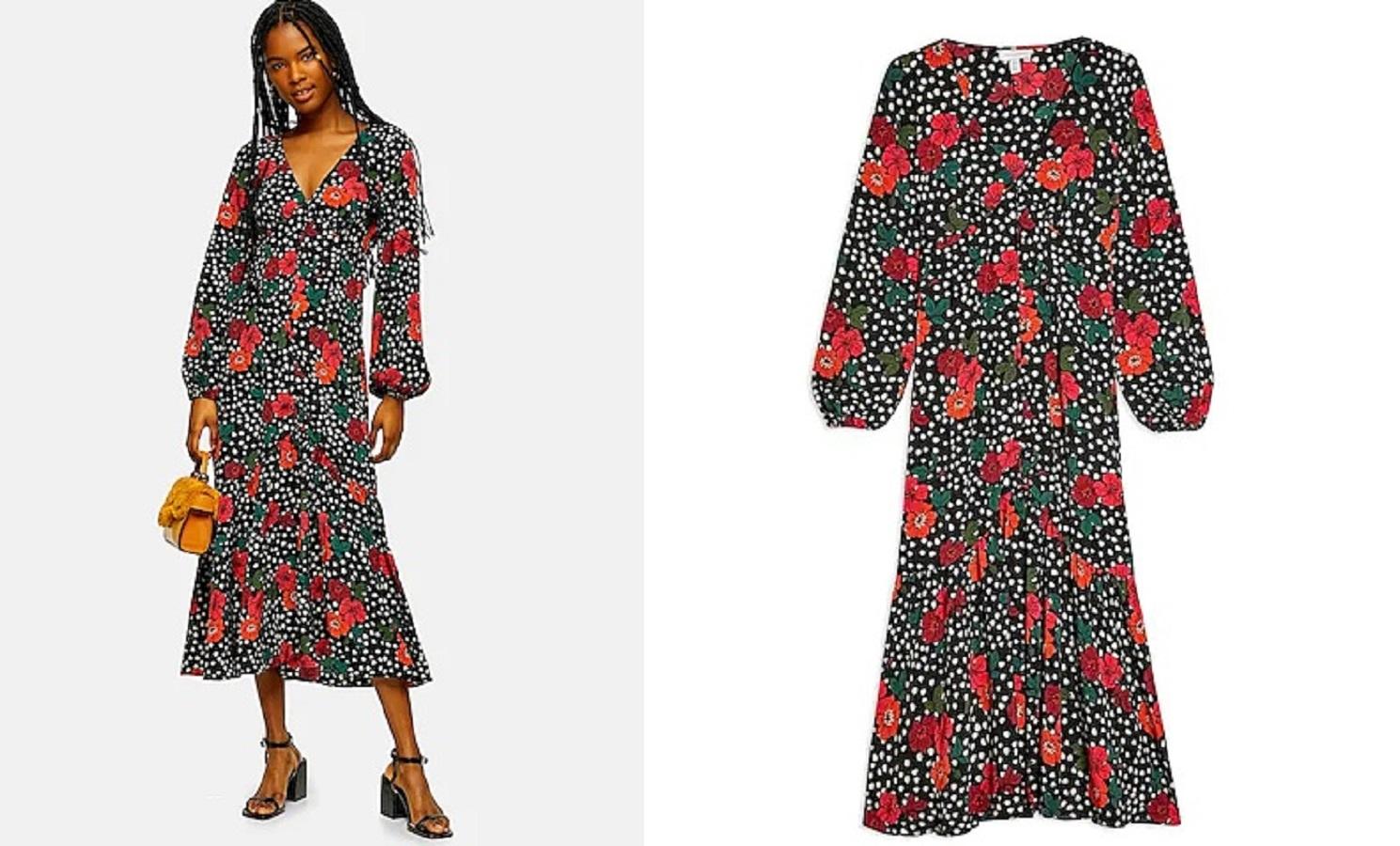 Il vestito Topshop da 35 euro ideale per le serate estive
