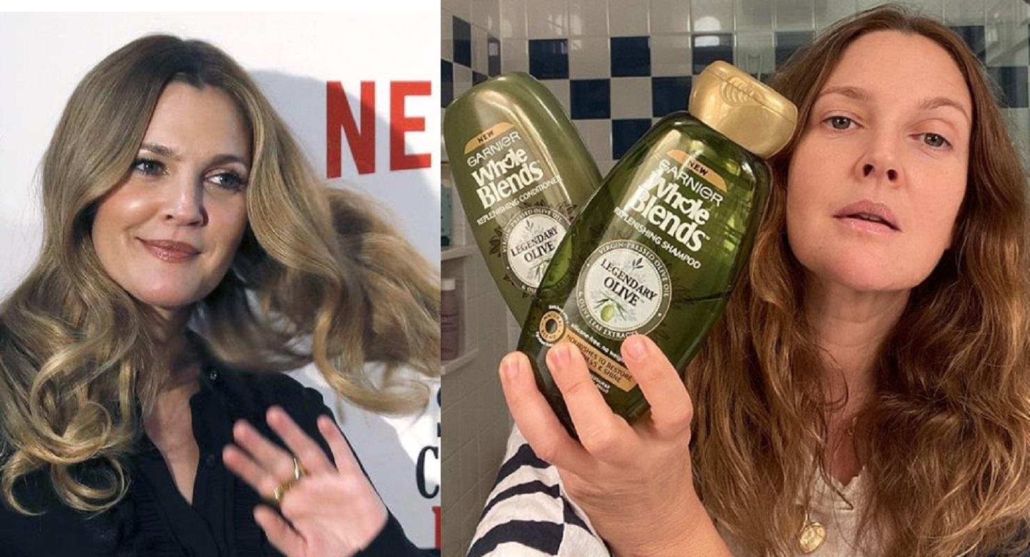 Drew Barrymore adora questo shampoo da 3 euro