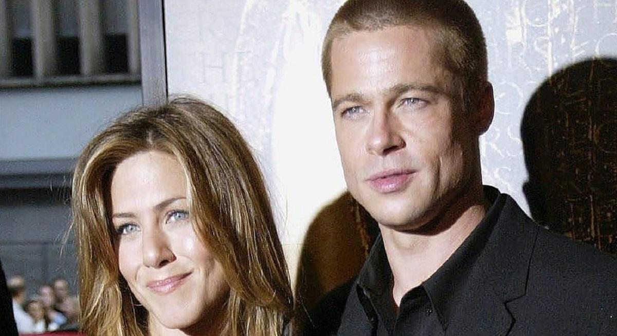 Jennifer Aniston e Brad Pitt insieme