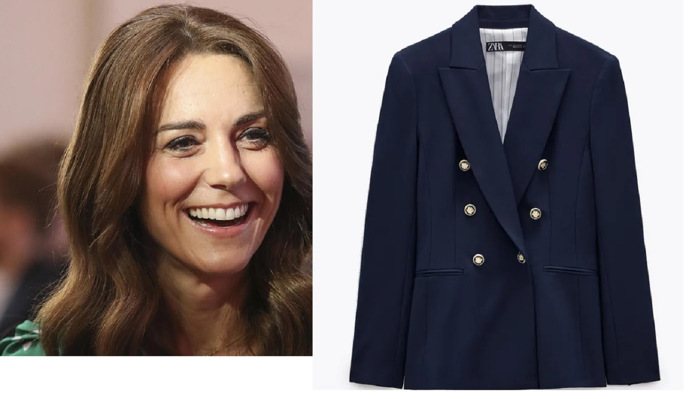Kate Middleton, il blazer Zara per copiare il look della duchessa