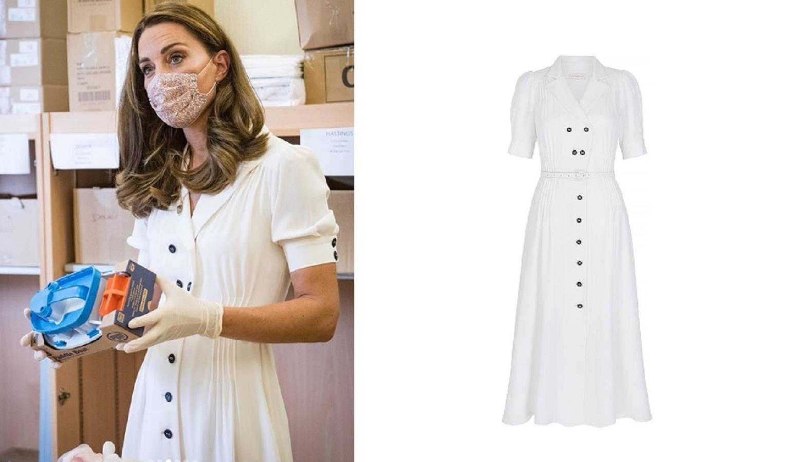 Kate Middleton ricicla l'abito di Suzannah indossato a Wimbledon