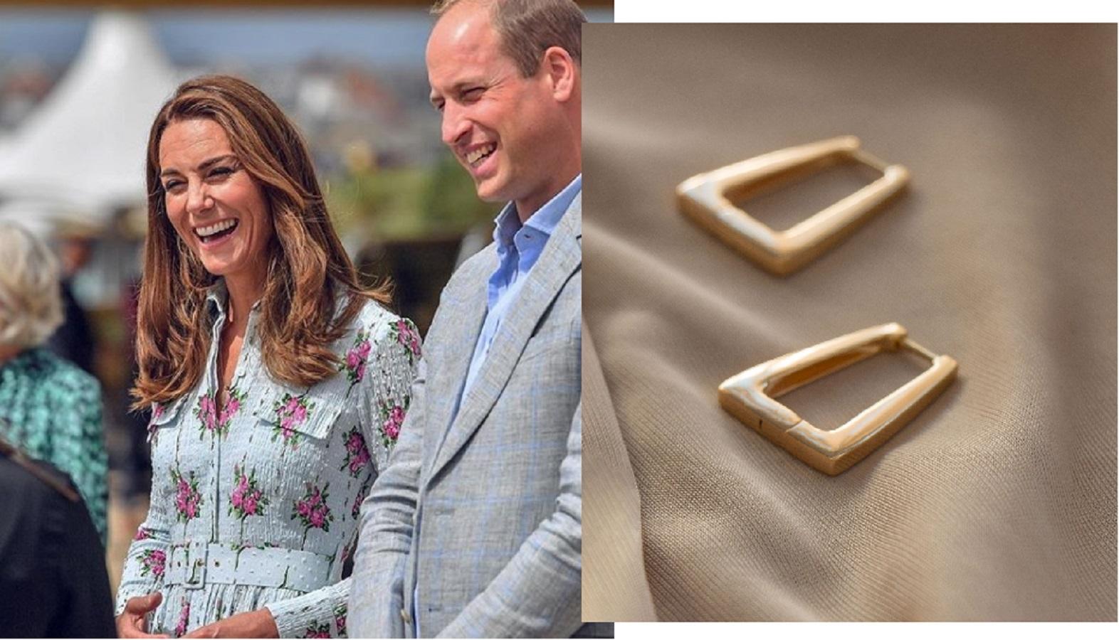 Kate Middleton, orecchini bohémien low cost per sostenere l'artigianato locale