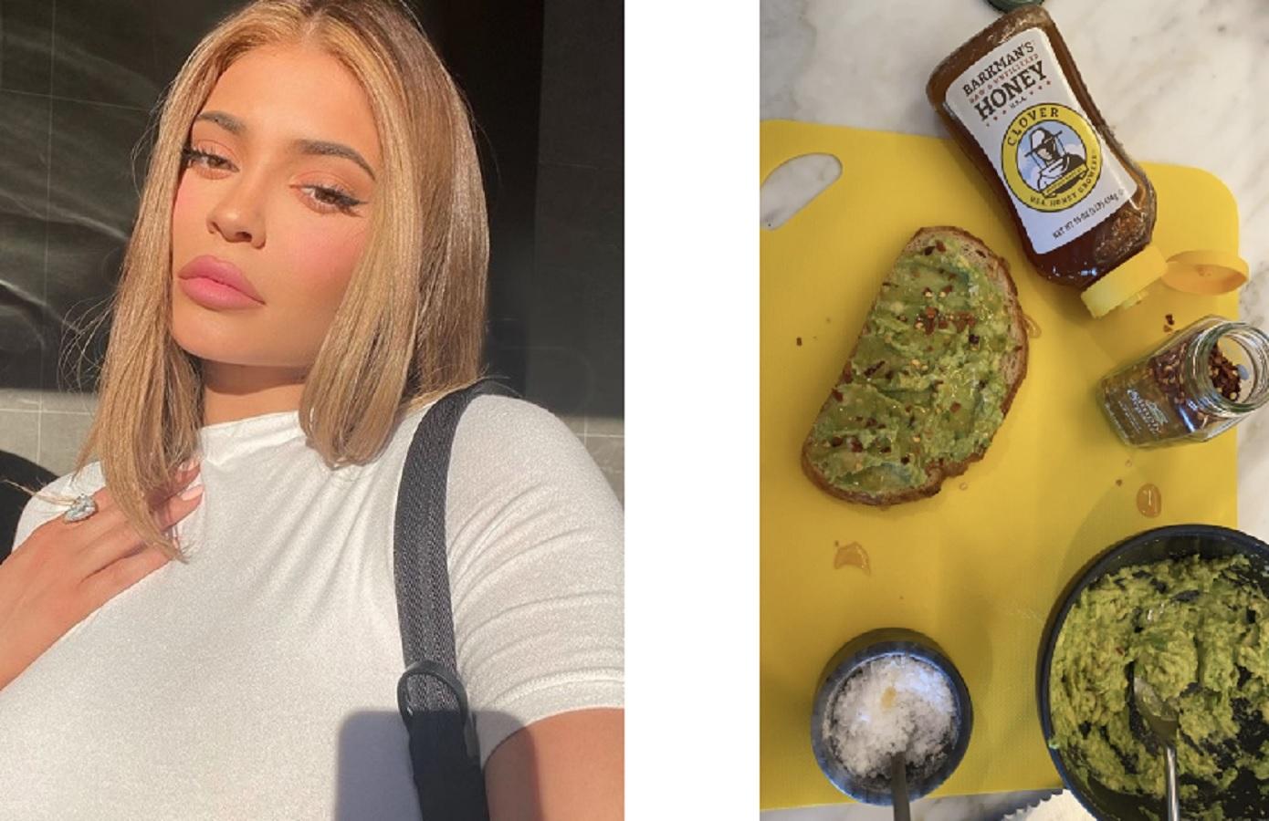 Kylie Jenner, peperoncino a colazione: ricetta del suo avocado toast alternativo