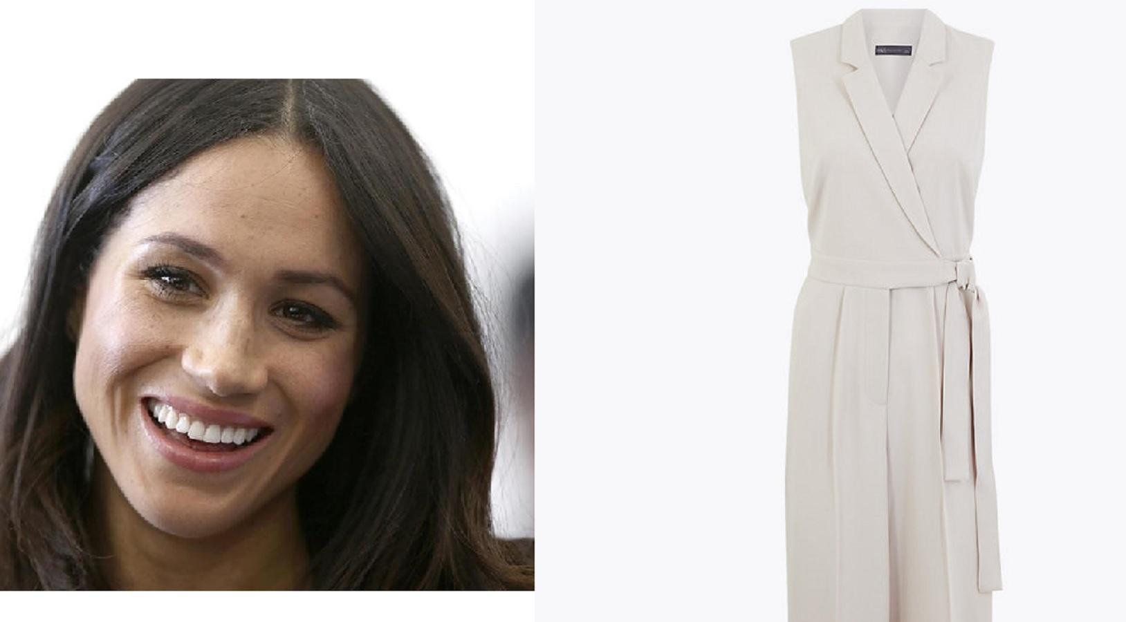 Meghan Markle, la tuta da 70 euro per copiare il suo look