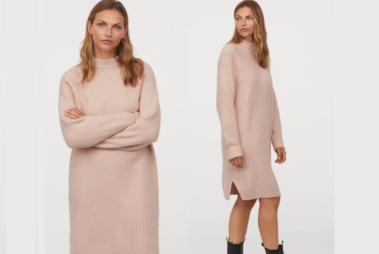 abito in maglia du H&M
